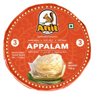Anil Foods-APPALAM-3NO-150 GM