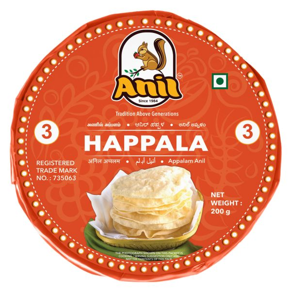 Anil Foods-APPALAM-3NO-200GM