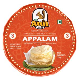 Anil Foods-APPALAM-3NO-75GM
