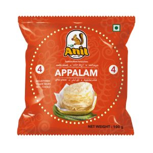 Anil Foods-APPALAM- 4NO-100 GM