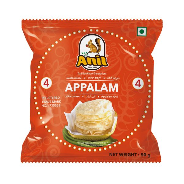 Anil Foods-APPALAM-4NO-50GM