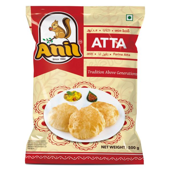 Anil Foods-ATTA-500GM