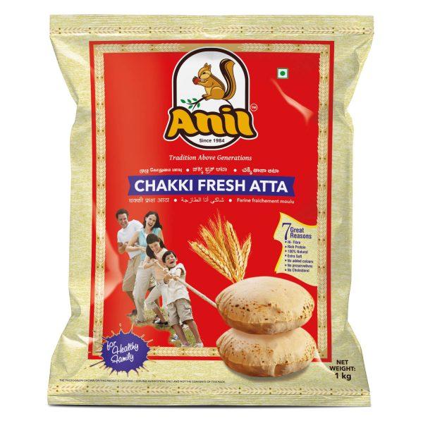 Anil Foods-CHAKKI FRESH ATTA-1KG