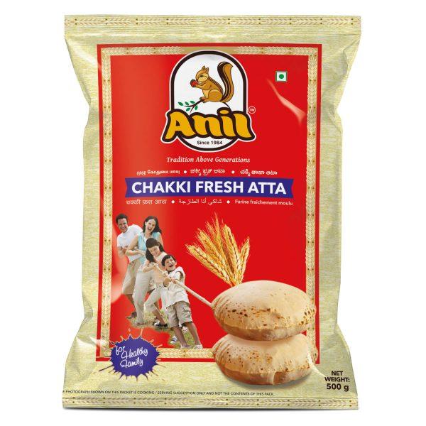 Anil Foods-CHAKKI FRESH ATTA-500GM