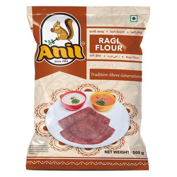 Anil Foods-RAGI FLOUR-500GM